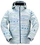 DESCENTE(デサント) スキージャケット DRA-4181 シルバーホワイトエスニックボーダー(SEB) O